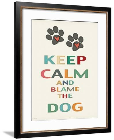 Keep Calm-Jo Moulton-Framed Art Print