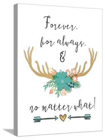 Forever-Jo Moulton-Stretched Canvas Print