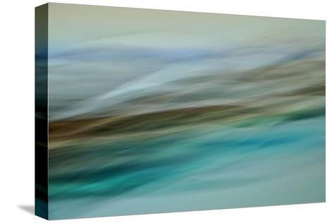 Moved Landscape 6479-Rica Belna-Stretched Canvas Print