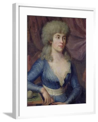 Portrait of Madame Lepage, 1797-Dominique Doncre-Framed Art Print