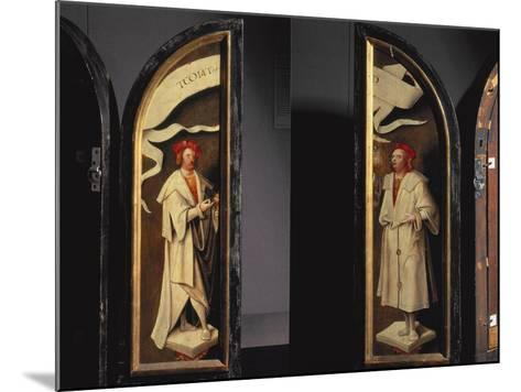 The Cleansing of Naaman Triptych-Cornelis Engelbrechtsen-Mounted Photographic Print