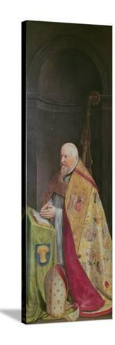Viglius Aytta, Donor of the Triptych of 'Christ Among the Doctors'-Frans I Pourbus-Stretched Canvas Print
