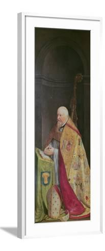 Viglius Aytta, Donor of the Triptych of 'Christ Among the Doctors'-Frans I Pourbus-Framed Art Print
