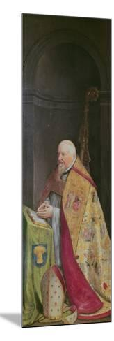 Viglius Aytta, Donor of the Triptych of 'Christ Among the Doctors'-Frans I Pourbus-Mounted Giclee Print