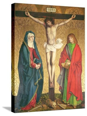 Crucifixion, Central Panel from the Retable on the High Altar, 1430--Stretched Canvas Print