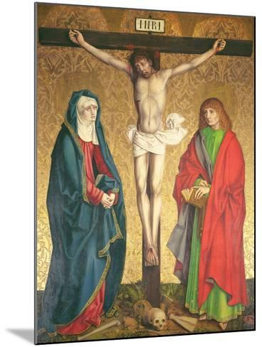 Crucifixion, Central Panel from the Retable on the High Altar, 1430--Mounted Giclee Print