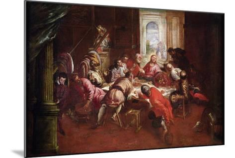 The Last Supper-Jacopo Robusti Tintoretto-Mounted Giclee Print