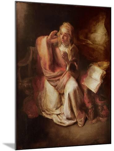 The Annunciation-Willem Drost-Mounted Giclee Print
