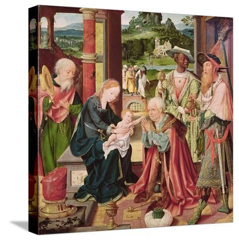 The Adoration of the Magi-Joos Van Cleve-Stretched Canvas Print