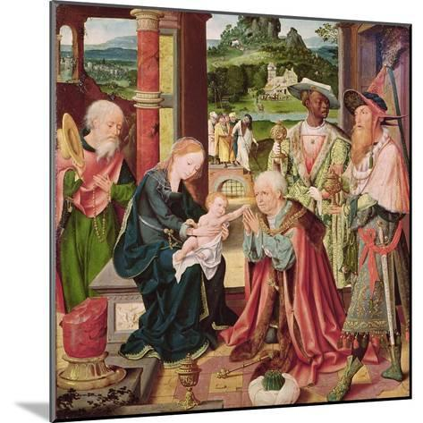 The Adoration of the Magi-Joos Van Cleve-Mounted Giclee Print