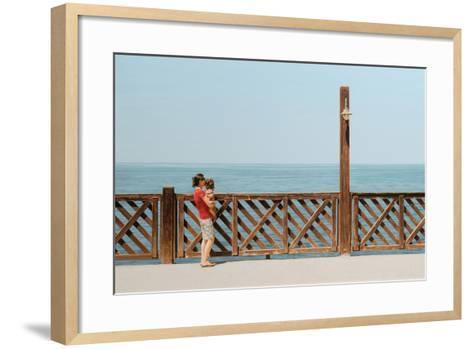 Mother and Daughter, 2013-Max Ferguson-Framed Art Print