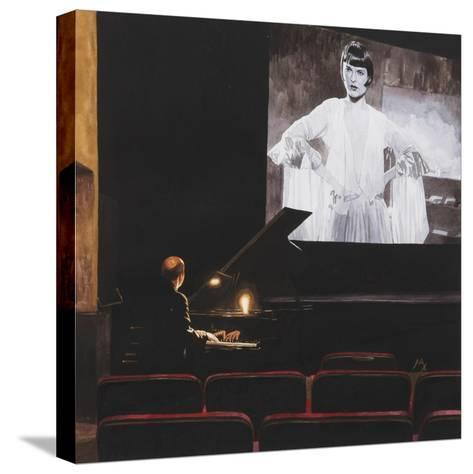 Lulu in New York II, 2014-Max Ferguson-Stretched Canvas Print