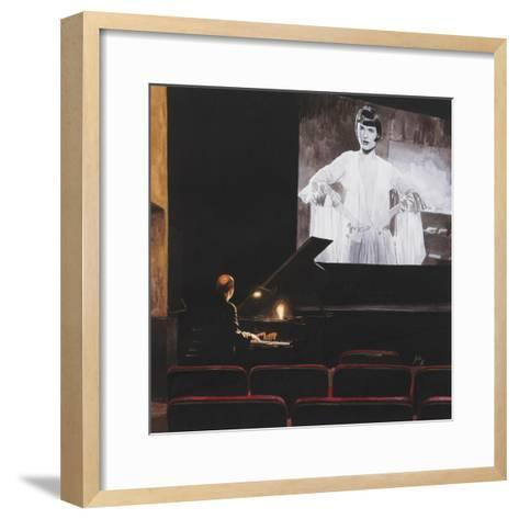 Lulu in New York II, 2014-Max Ferguson-Framed Art Print