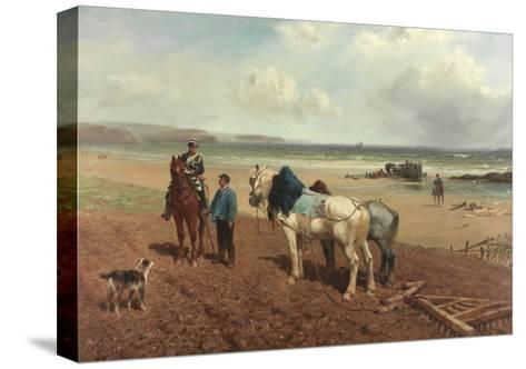 The Story of the Wreck, C.1872-Richard Beavis-Stretched Canvas Print