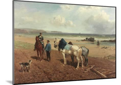 The Story of the Wreck, C.1872-Richard Beavis-Mounted Giclee Print