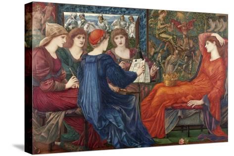 Laus Veneris, C.1873-75-Edward Burne-Jones-Stretched Canvas Print