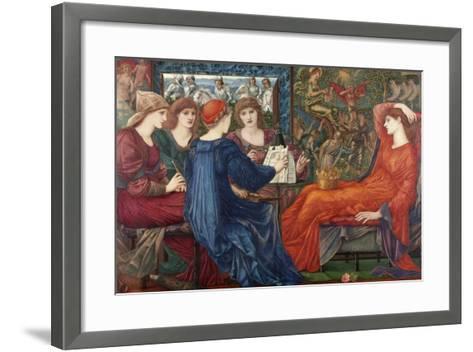 Laus Veneris, C.1873-75-Edward Burne-Jones-Framed Art Print