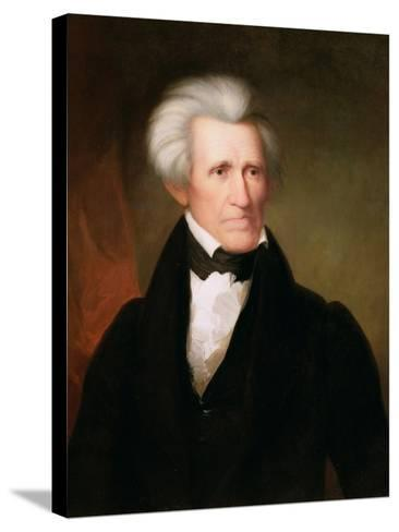 Andrew Jackson, 1835-Asher Brown Durand-Stretched Canvas Print