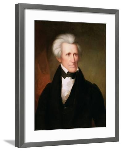 Andrew Jackson, 1835-Asher Brown Durand-Framed Art Print