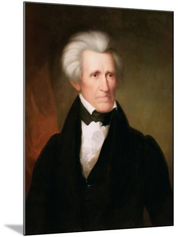 Andrew Jackson, 1835-Asher Brown Durand-Mounted Giclee Print