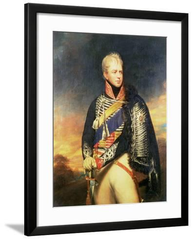 Portrait of Ernest, Duke of Cumberland and King of Hanover (1771-1851)-Sir William Beechey-Framed Art Print