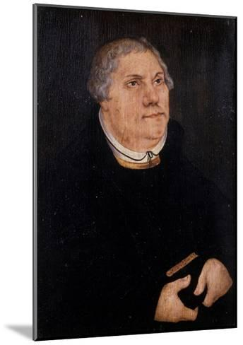 Martin Luther, 1539-Lucas Cranach the Elder-Mounted Giclee Print