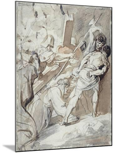 Christ Carrying the Cross-Sir Anthony Van Dyck-Mounted Giclee Print