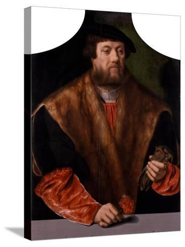 Portrait of a Nobleman, 1544-Bartholomaeus Bruyn-Stretched Canvas Print
