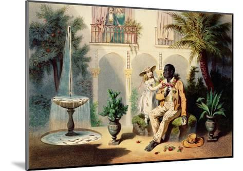 Tom and Evangeline-Adolphe Jean-baptiste Bayot-Mounted Giclee Print