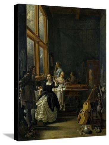 After Breakfast, 1601-50-Jacob Duck-Stretched Canvas Print