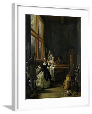 After Breakfast, 1601-50-Jacob Duck-Framed Art Print