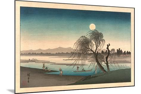 Fukeiga-Utagawa Hiroshige-Mounted Giclee Print