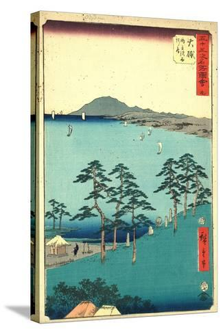 Oiso-Utagawa Hiroshige-Stretched Canvas Print