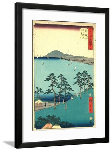 Oiso-Utagawa Hiroshige-Framed Art Print