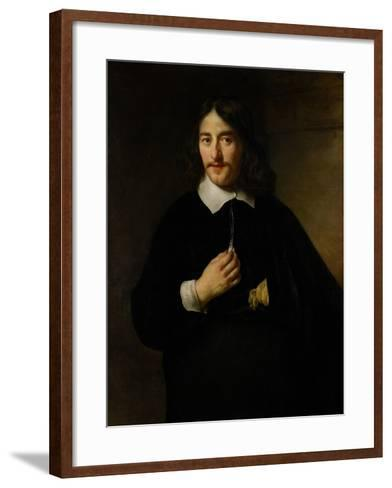 Portrait of a Man, 1654-Govaert Flinck-Framed Art Print