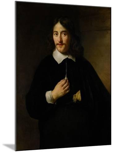 Portrait of a Man, 1654-Govaert Flinck-Mounted Giclee Print