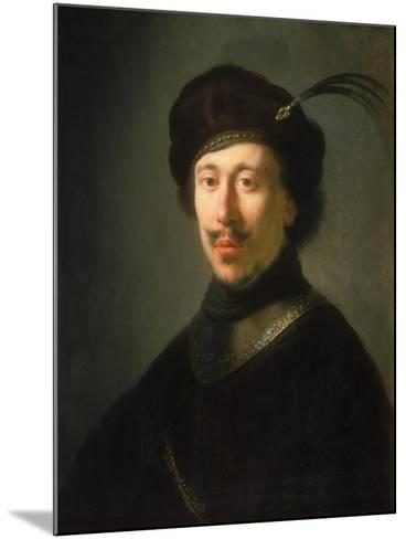 Young Man in a Gorget and Plumed Cap, C.1630-Isaac de Jouderville-Mounted Giclee Print