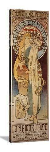 La Samaritaine, 1897-Alphonse Mucha-Stretched Canvas Print