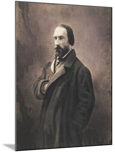 Auguste Vacquerie, C.1865-Nadar-Mounted Giclee Print