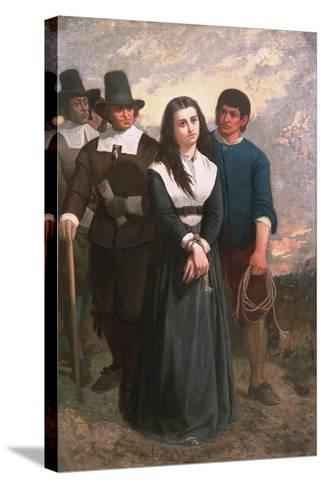 Witch Hill (The Salem Martyr) 1869-Thomas Satterwhite Noble-Stretched Canvas Print