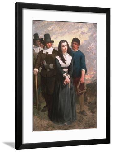 Witch Hill (The Salem Martyr) 1869-Thomas Satterwhite Noble-Framed Art Print