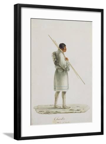 Cherokee, 1820-Anne Marguerite Hyde de Neuville-Framed Art Print
