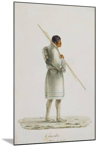 Cherokee, 1820-Anne Marguerite Hyde de Neuville-Mounted Giclee Print