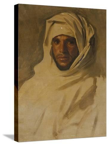 A Bedouin Arab-John Singer Sargent-Stretched Canvas Print