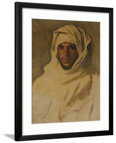 A Bedouin Arab-John Singer Sargent-Framed Art Print