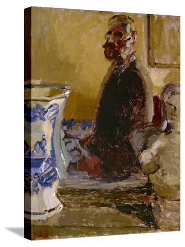 The Bust of Tom Sayers; a Self-Portrait, C.1913-15-Walter Richard Sickert-Stretched Canvas Print