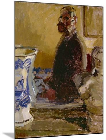 The Bust of Tom Sayers; a Self-Portrait, C.1913-15-Walter Richard Sickert-Mounted Giclee Print