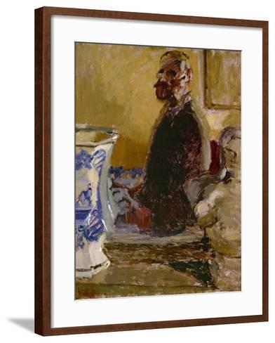 The Bust of Tom Sayers; a Self-Portrait, C.1913-15-Walter Richard Sickert-Framed Art Print