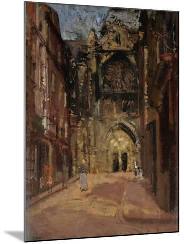 St Jacques, Dieppe, France, C.1900-Walter Richard Sickert-Mounted Giclee Print