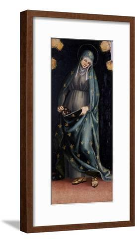 St. Casilda, C.1515-20-Luca Signorelli-Framed Art Print